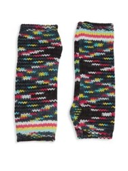 Missoni Knit Arm Cuffs Grey Multi