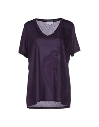 Escada Sport T Shirts Deep Purple