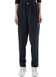 Marvielab Oversized Straight Leg Pants Black