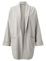 Jigsaw Felted Wool Cocoon Jacket Putty