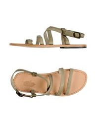 Local Apparel Sandals Military Green