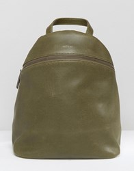 Matt And Nat Aries Backpack Olive Green
