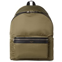 Saint Laurent Nylon Backpack Brown