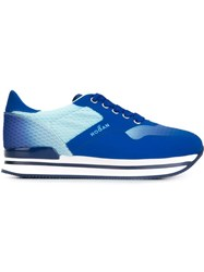 Hogan Logo Retro Sneakers Blue