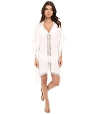 Tommy Bahama Lace Tunic W Lace Inset Edge Cover Up White Women's Swimwear