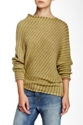 Wooden Ships Striped Asymmetrical Sweater Multi
