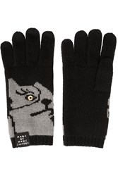 Marc By Marc Jacobs Don't Sweat My Pet Wool Gloves