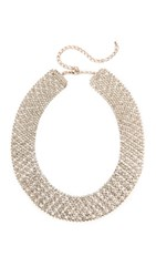 Theia Jewelry Large Soft Link Necklace Clear