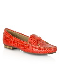 Daniel Alexandria Driving Loafers Red