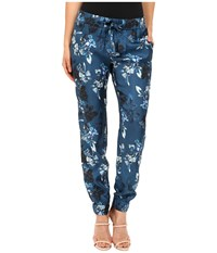 Zac Posen Heather Pants Navy Multi Women's Casual Pants Blue