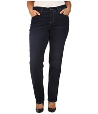 Jag Jeans Plus Size Portia Straight In Indio Platinum Denim Indio Women's Blue
