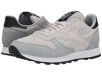 Reebok Classic Leather Mp Steel Flat Grey Black White Men's Shoes Gray
