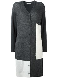 Tsumori Chisato Long Cardigan Grey