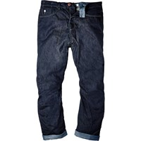 River Island Mens Dark Blue Wash Slouchy Fit Jeans