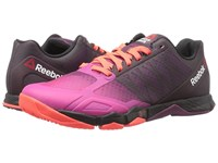 Reebok Crossfit Speed Tr Rose Rage Mystic Maroon Atomic Red Rebel Berry Black Women's Cross Training Shoes