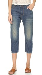 6397 Loose Capri Jeans Dirty Faded
