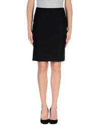 Joseph Knee Length Skirts Black
