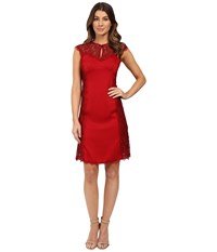 Nanette Lepore Empress Sheath Crimson Women's Dress Red