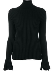 Lanvin Ribbed Jumper Black