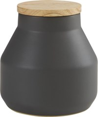 Cb2 Neutral Large Dark Grey Canister
