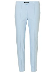Betty Barclay Fitted Cotton Mix Trousers Frosted Blue