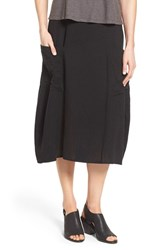 Women's Eileen Fisher Organic Cotton Calf Length Lantern Skirt