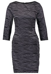 Reiss Lennox Cocktail Dress Party Dress Pewter Black Anthracite