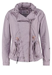 Khujo Jeen Summer Jacket Lavender Purple