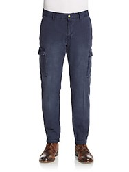 Gant Canvas Cargo Pants Dark Blue