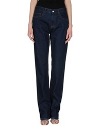 Loro Piana Denim Denim Trousers Women Blue