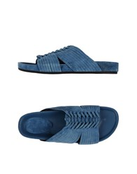 Belle By Sigerson Morrison Footwear Sandals Women Slate Blue