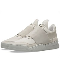 Filling Pieces Low Top Combined Elastic Sneaker Grey