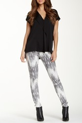 Vince Patterned Skinny Jean Multi