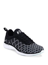 Athletic Propulsion Labs Techloom Pro Mesh Running Shoes Black White