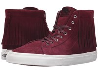 Vans Sk8 Hi Moc Suede Port Royale Blanc De Blanc Skate Shoes Brown