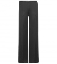 The Row Misa Wide Leg Trousers Black