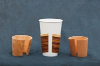 Handcrafted Wooden Hot Cup Sleeve By Modestgoods On Etsy