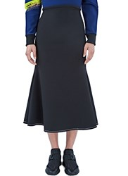 Ellery Beedee Long Fluted Skirt Black