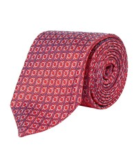 Harrods Of London Decorative Limited Edition Tie Unisex Red