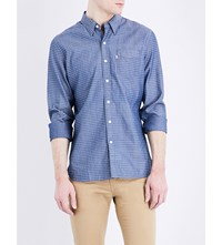 Levi's Sunset Cotton Shirt Hegelong Dark Blue