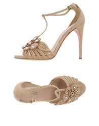 Sebastian Footwear Sandals Women Beige