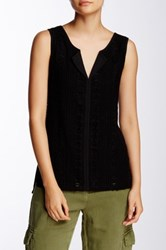 Sanctuary Studio Sleeveless Shell Black