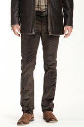 John Varvatos Pick Stitch Slim Fit Jean Black