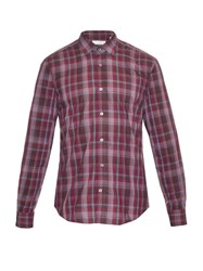 Gieves And Hawkes Madras Check Cotton Shirt