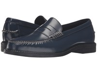 Cole Haan Pinch Campus Penny Blazer Blue Men's Slip On Dress Shoes