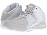 And 1 Rocket 4 Glacier Grey Glacier Grey Bright White Men's Basketball Shoes