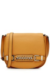 Diane Von Furstenberg Leather Shoulder Bag Yellow