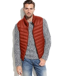 Hawke And Co. Outfitter Hawke And Co. Lightweight Packable Down Vest Princeton Orange