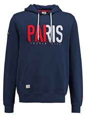 Cayler And Sons Paris F City Hoodie Navy Red White Dark Blue