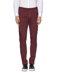 Maesna Trousers Casual Trousers Men Maroon